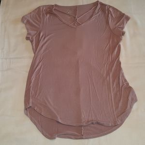 Maurices dusty rose top